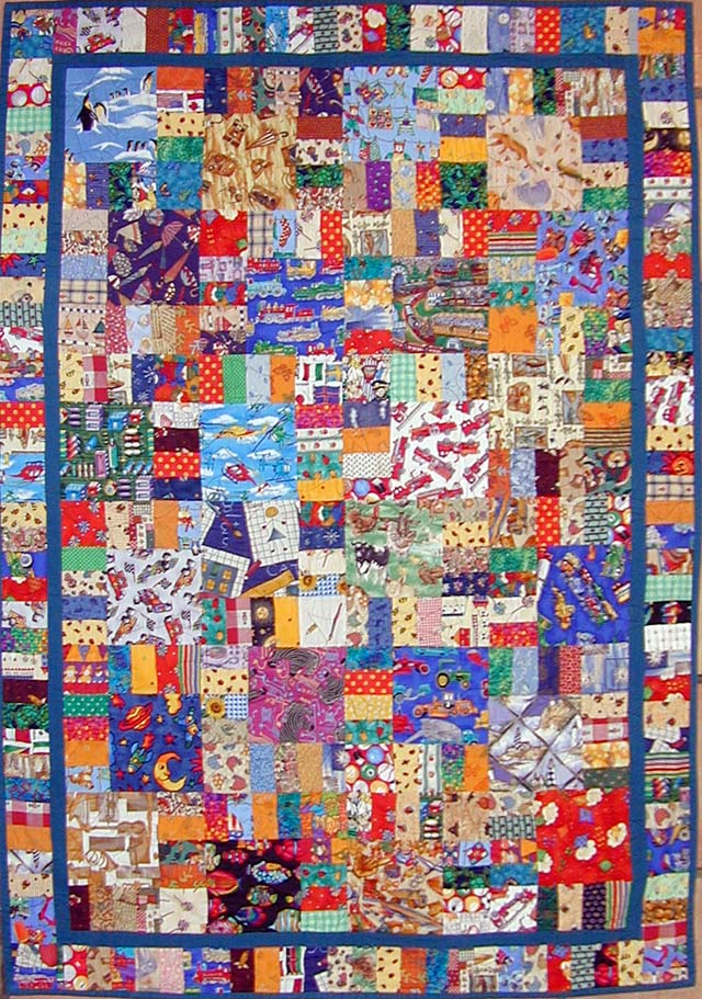 "How to Make an ""I Spy"" Quilt 
